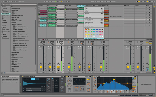 Ableton Live Mixing and Workflow Tips and Tricks