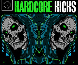 Loopmasters 5 raw kick presets  24 bit audio  one shots  loops  up tempo  hardcore  digital hardcore  gabba  speedcore  industrial hardcore 300 x 250