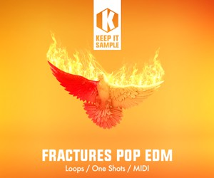 Loopmasters keep it sample   fractures pop edm artwork 300x250