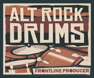 Loopmasters frontline alt rock drums 300x250