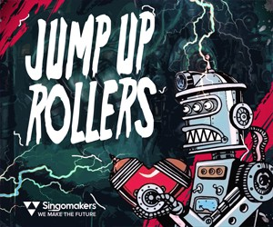 Loopmasters singomakers jump up rollers 300 250