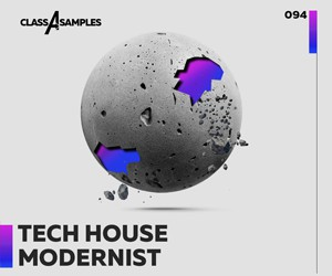 Loopmasters class a samples tech house modernist 300 250
