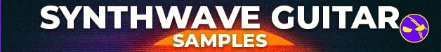 Loopmasters dabromusic synthwave guitar samples 628x75