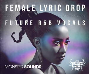 Loopmasters monster sounds female lyric drop 300x250