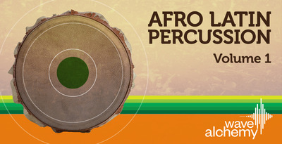 Wa afro latin perc artwork banner