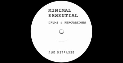 Audiostrasse minimal percussion drums 512