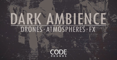 Code sounds   dark ambience   artwork banner