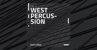 West percussion volume 2 samplesound 1000x512c