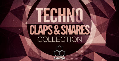 Datacode   focus techno claps   snares collection   banner
