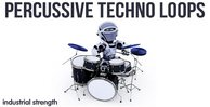 4 percussive techno loops percussion  conga top loops rims  snares toms  shakers loops one shots electro house hard techno 512 web