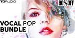 4 tda vocal pop bundle kits vocals midi serum loops vocal clips vocal loops future pop tropical pop modern pop 512 web
